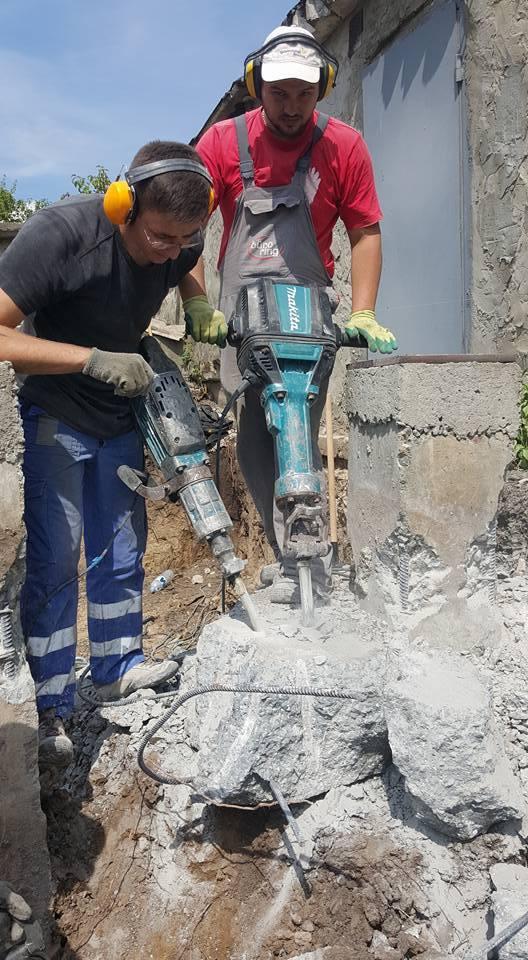 Вырубка бетона это бетон в аксае цена с доставкой купить